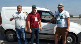 Агрономи приватного підприємства «Агро Добробут»